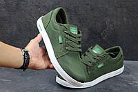Мужские мокасины Lascote, зеленые
