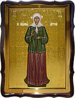 Православная икона Святой  Матрона (ростовая)