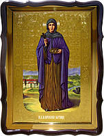 Церковная икона Святой  Параскевы Пятницы (ростовая)