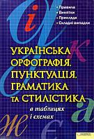 Мельник-Крисаченко П, Українська орфографія, пунктуація, граматика та статистика в таблицях і схемах
