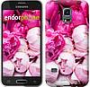 "Чехол на Samsung Galaxy S5 mini G800H Розовые пионы ""2747c-44-532"""