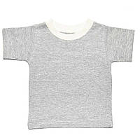 Детская футболка  (Серый)
