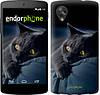 """Чехол на LG Nexus 5 Дымчатый кот """"825c-57-532"""""""
