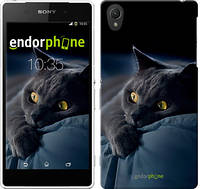 "Чехол на Sony Xperia Z2 D6502/D6503 Дымчатый кот ""825c-43-532"""