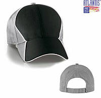 Кепка бейсболка GRAND PRIX серый/черный