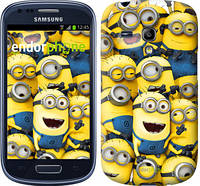 "Чехол на Samsung Galaxy S3 mini Миньоны 8 ""860c-31-532"""