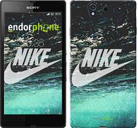 "Чехол на Sony Xperia Z C6602 Water Nike ""2720c-40-532"""