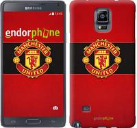 "Чехол на Samsung Galaxy Note 4 N910H Манчестер Юнайтед 3 ""997c-64"""