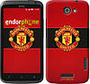"""Чехол на HTC One X Манчестер Юнайтед 3 """"997c-42"""""""