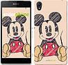 """Чехол на Sony Xperia Z2 D6502/D6503 Нарисованный Мики Маус """"2731c-43-532"""""""