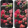 """Чехол на Samsung Galaxy S5 mini G800H Куст с розами """"2729c-44-532"""""""