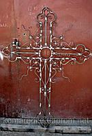 Металлические кресты на могилу