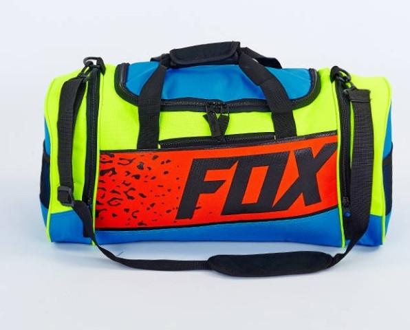 21426bde5566 Сумка для спортзала FOX(40л) GA-5678-1 сине-салатовая: продажа, цена ...