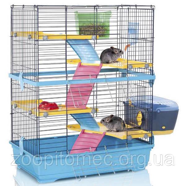 Клетка для шиншилл и кроликов Imac ДАБЛ 80 (DOUBLE 80) пластик