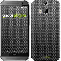 "Чехол на HTC One M8 dual sim Ячейки ""243c-55"""