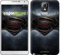 "Чехол на Samsung Galaxy Note 3 N9000 Бэтмен против Супермена ""3576c-29"""