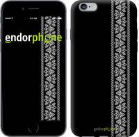 """Чехол на iPhone 6 Plus Вышиванка 32 """"601c-48"""""""