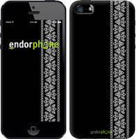 """Чехол на iPhone 5s Вышиванка 32 """"601c-21"""""""