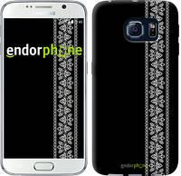 "Чехол на Samsung Galaxy S6 G920 Вышиванка 32 ""601c-80"""