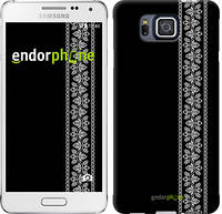 """Чехол на Samsung Galaxy Alpha G850F Вышиванка 32 """"601c-65"""""""