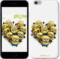 "Чехол на iPhone 6 Plus Миньоны 4 ""301c-48"""