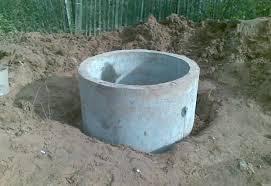 Кольца колодца. Сливные ямы. Копаем, чистим, углубляем.