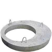 Плиты перекрытия колец, сливных ям.