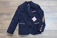 Пиджак на мальчика синий 140-146
