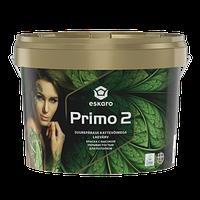 Краска для потолка Эскаро Примо 2 с высокой укрывистостью в ведрах по 9 литров