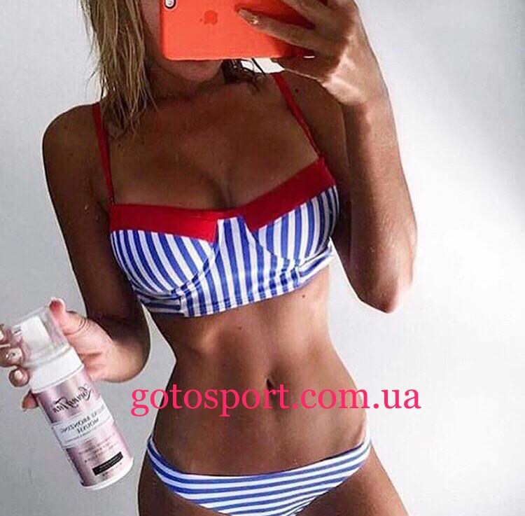 13749b800d1be Купальник раздельный женский в стиле pin-up - Интернет-магазин спортивной  одежды