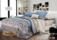 """Стильный двухспальный комплект постельного белья из ранфорса """"Корнетто""""."""