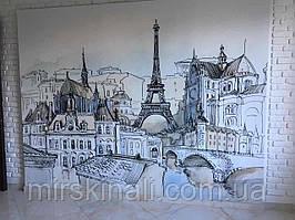 """Моя робота - """"Париж"""" в стилі малюнка олівцем"""