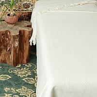 Плед  Fresno Pique Blanket (Hasir) от Casual Avenue 240х250 молочный