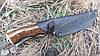 Нож охотничий Медведь из прочным лезвием, фото 5