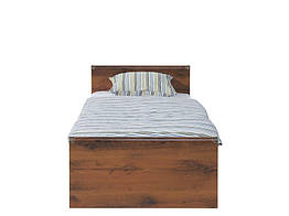 Кровать подростковая JLOZ90 Индиана БРВ 90×200 Дуб шуттер