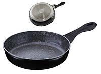 Сковорода глубокая гранитная 24см газ индукция 25302