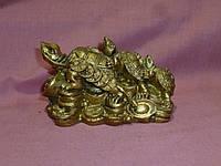 Три черепахи фен шуй 10х6х6 сантиметров