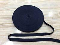Киперная лента (х.б.) 1,5 см. № 120 темно синий