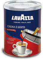 Кофе молотый Lavazza Crema e Gusto (Новый дизайн) 250 g.