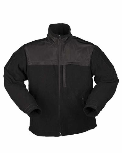 Флисовая куртка Black ELITE FLEECE JACKET HEXTAC® BLACK