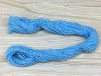 Нитка Акриловая 30м  голубой