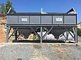 Бункер двух секционный  для хранения инертных материалов KARMEL, фото 3