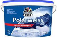 Супербелая акриловая краска Dufa Polarweiss - для стен и потолка