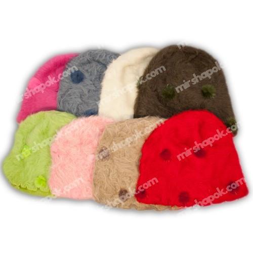 шапка для девочки