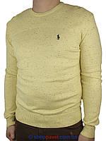 Стильный мужской свитер Polo 3663 в желтом цвете