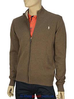 Кофта мужская коричневая в стиле P 3764