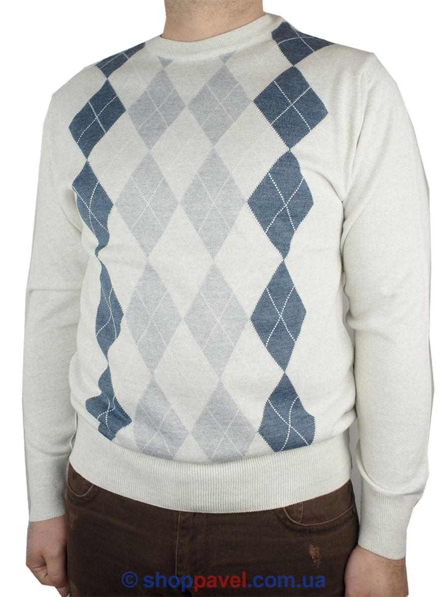 Мужской классический свитер Wool Yurt 0395 Н круг С размер L