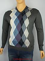 Мужской свитер большого размера Wool Yurt 0425 В мис