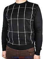 Стильный мужской свитер DLN с круглым горлом в разных цветах 4101 Н