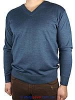 Мужской классический свитер DLN в синем цвете 2305 Н